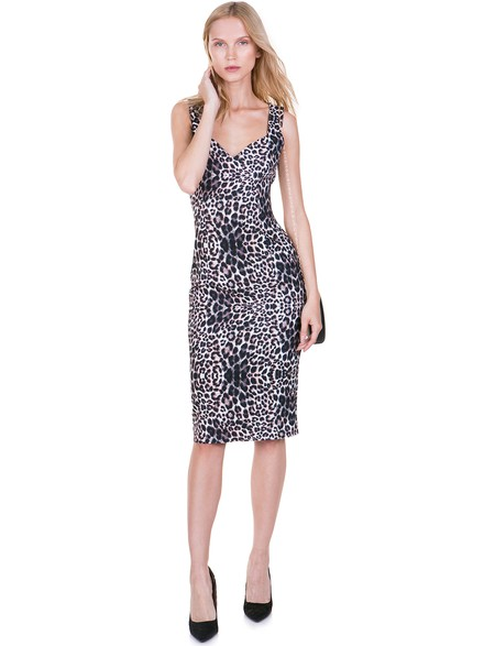 80b8cb83253c Leopard printed bodycon dress - Toi moi