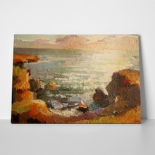 Sea waves oil painting 270262238 a