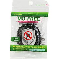MO FREE INSECT REPELLENT BAND ΜΑΥΡΟ