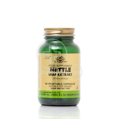 SOLGAR - Nettle Leaf Extract - 60caps
