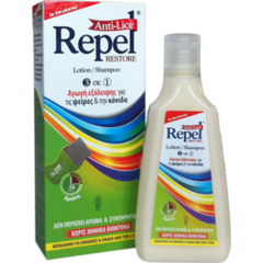 Uni-Pharma Repel Anti-lice Restore Lotion/Shampoo 200ml