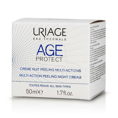 URIAGE - AGE PROTECT Creme Nuit Peeling Multi-Actions - 50ml
