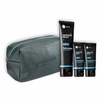 Panthenol Extra - Men Gift For Him - After Shave Balm (75ml) & Face & Eye Cream (75ml) ΜΕ ΔΩΡΟ 3in1 Cleanser (