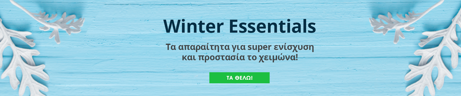 Winter Essentials 14/1/20