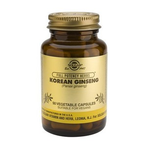 Solgar korean ginseng