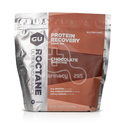GU - ROCTANE Protein Recovery Drink Mix Chocolate Smoothie - 930gr