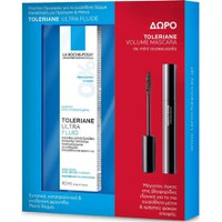 La Roche Posay Toleriane Ultra Fluide 40ml & Δώρο Toleriane Mascara Mini Volume Black 4.5ml