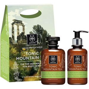 Tonic mountain tea shower gel with essential oils enlarge