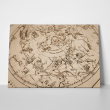 Antique celestial map 314639855 a