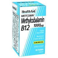 HEALTH AID METHYLCOBALAMIN B12 1000μGR 60TABL