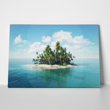 Island ocean 3d illustration 526092568 a