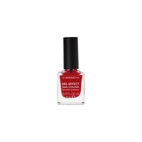 KORRES NAIL COLOUR GEL EFFECT (WITH ALMOND OIL) No51 ROSY RED 11ML