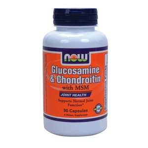 Now glucosamine   chondroitin with msm