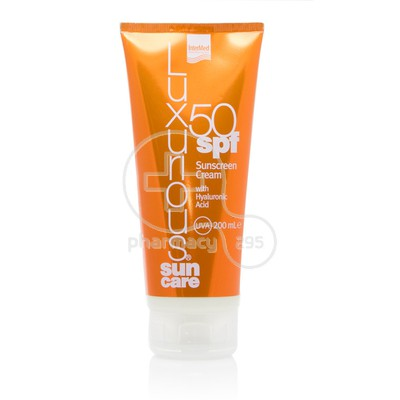 INTERMED - LUXURIOUS SUN CARE Body Sunscreen Cream with Hyaluronic Acid SPF50 - 200ml