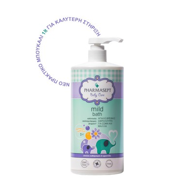PHARMASEPT - Baby Care Tol Velvet Mild Bath 2in1 - 1000ml