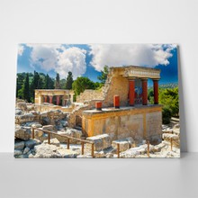 Knossos palace crete ruins heraklion greece 1018037164 a