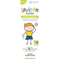 Lavipharm Laviten System Anti Lice Solution, 125ml