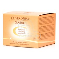 COVERDERM - CLASSIC Waterproof Concealing Foundation SPF30 (No5A) - 15ml