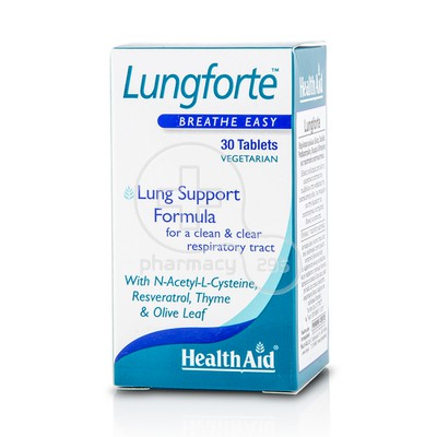 HEALTH AID - Lungforte - 30tabs