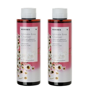 Korres intimate area clenaser 2x250ml