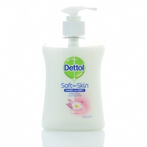 Dettol soft on skin hard on dirt