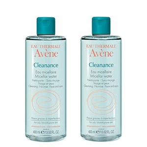 2x avene cleanance micellaire 400ml