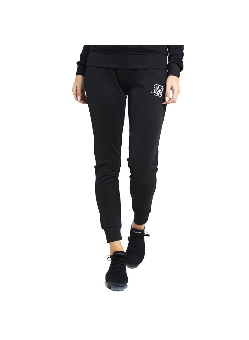 SikSilk Poly Jogger - Black