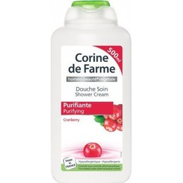 Corine De Farme Purifying Shower Cream Cranberry 500ml