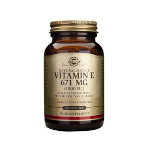SOLGAR Vitamin E 1000iu 671mg 50softgels