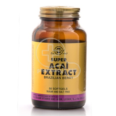 SOLGAR - Super Acai Extract - 50softgels