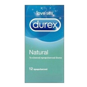 Durex natural 12s