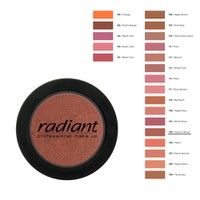 RADIANT BLUSH COLOR No123-CERAMIC BROWN