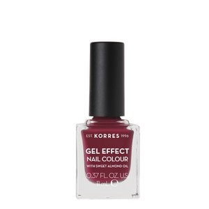 Gel effect nail colour berry addict 74