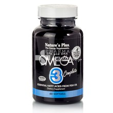 Nature's Plus OMEGA 3 Complete, 60 softgels