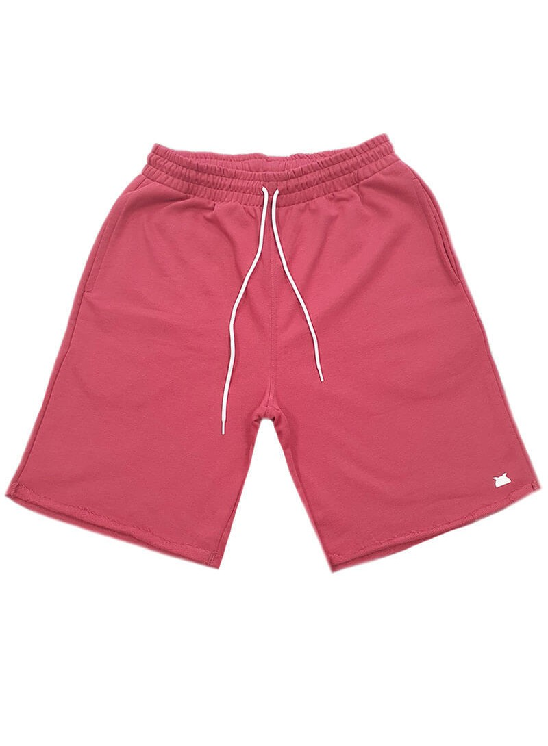 OWL CLOTHES SHORTS BRICKRED CLASSIC