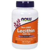 NOW LECITHIN 1200MG  100SOFTGELS
