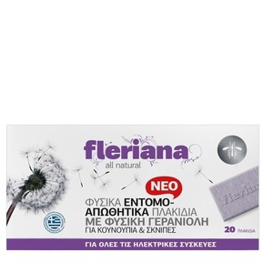 Fleriana insect repeller plakidia