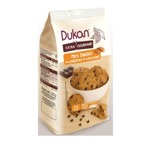 Dukan expert mini oatmeal shortbread with chocolate chips  120gr