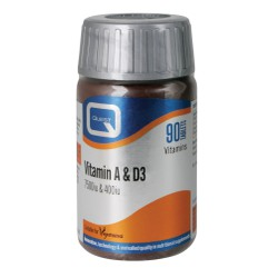 Quest Vitamin A & D (7500i.u. & 400i.u.) 90caps