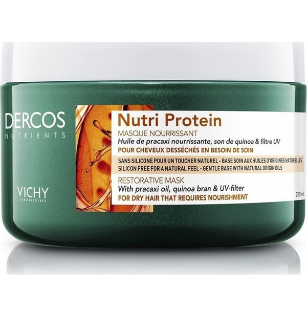 VICHY DERCOS NUTRIENTS MASK NUTRI 250ML