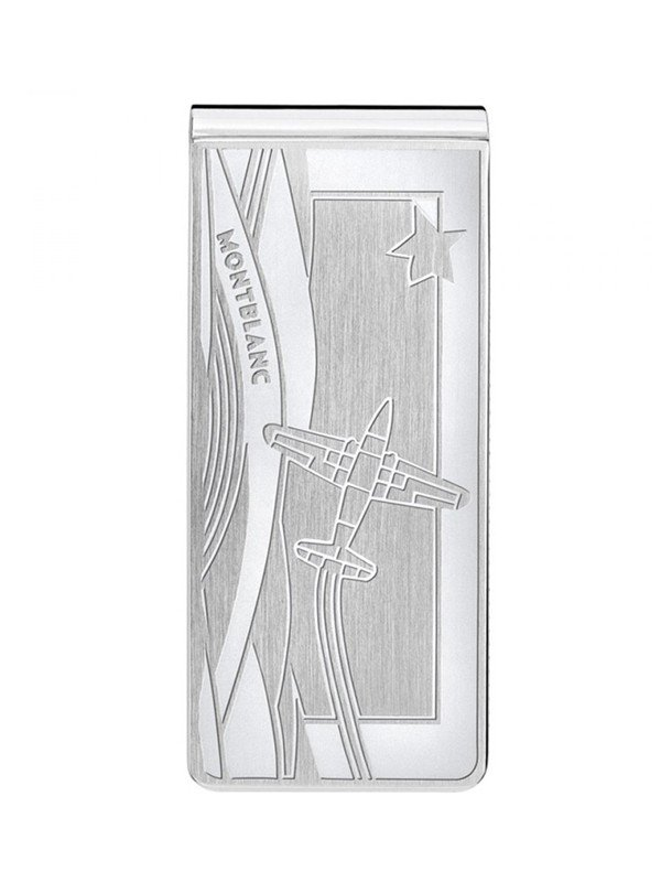 Money clip Le Petit Prince with engraving aeroplane