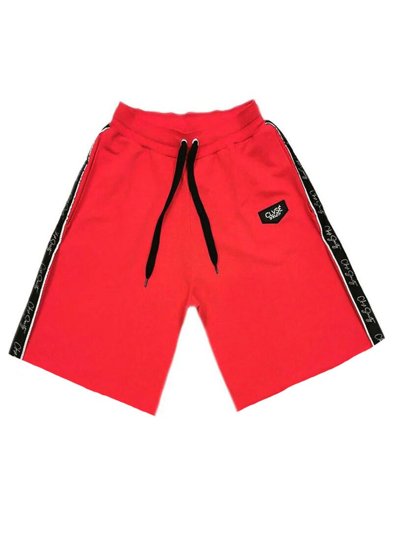 CLVSE SOCIETY RED LINE SHORTS
