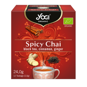 Yogi organic tea spicy chai