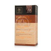 APIVITA - NATURE'S HAIR COLOR N7.7 Ξανθό Μπεζ