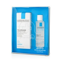 LA ROCHE-POSAY - PROMO PACK TOLERIANE SENSITIVE Soin Prebiotique - 40ml ΜΕ ΔΩΡΟ Eau Micellaire Ultra - 50ml