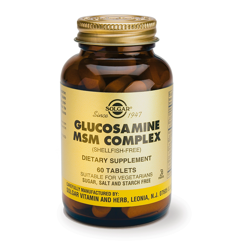 Glucosamine MSM Complex tablets