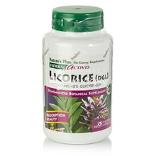 Natures Plus Licorice (DGL) 500mg - Αντιβακτηριακό, 60vcaps