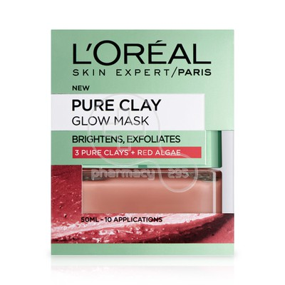 L'OREAL PARIS - PURE CLAY Glow Mask - 50ml
