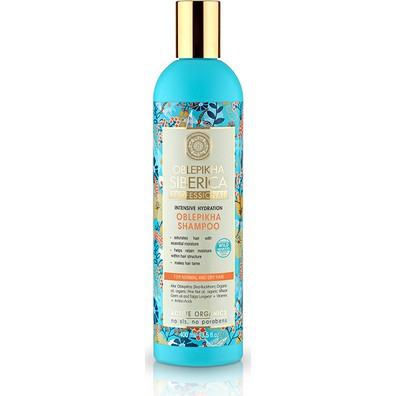 Natura siberica oblepikha shampoo for normaldry hair 400ml