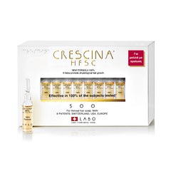 Labo Crescina HFSC 100% 200 Complete Treatment Man, 10+10 αμπούλες